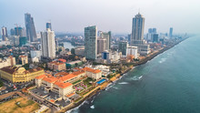 Aerial. Colombo - Commercial C...