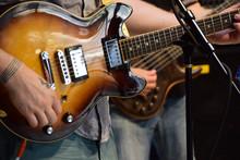 DSC_0058 Brown Guitar