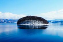 洞爺湖冬景