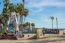 Graffiti Walls At Venice Beach...