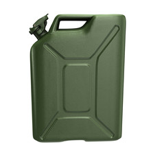 Fuel Canister Green On An Isolated White Background. 3d Illustration