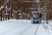 Tram In Winter Park
