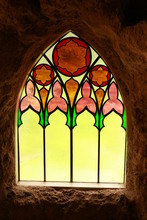 Stained Glass Window From Insi...