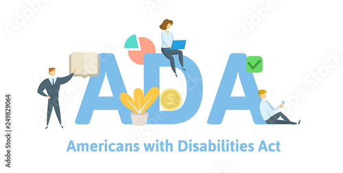 Photo ADA, Americans with Disabilities Act