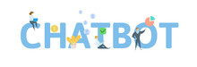 CHATBOT. Concept With People, ...