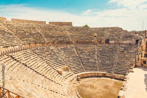 Fotografia Panorama ancient Greco Roman city