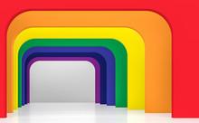 Rainbow Space Interior Concept...