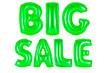 canvas print picture - big sale, green color