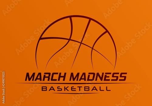 Fotografía  March Madness basketball
