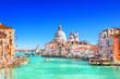 canvas print picture - Basilica Santa Maria della Salute in Venice