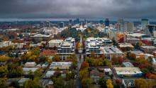 Aerial View Of Sacramento State Capital Park