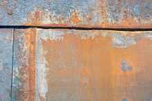 Background Of Rusty Shell Of Ship At Shipyard For Maintenance