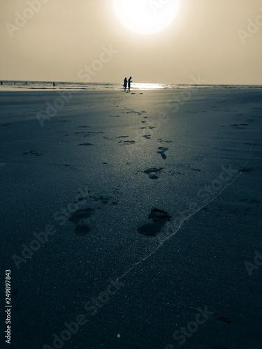 Fotografiet  Vacation to Beach Shore coastline