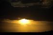Amazing Sunset in the Lençóis Maranhenses