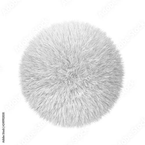 Foto Abstract fluffy ball