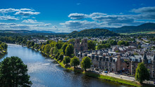 City View Of Inverness With Ri...