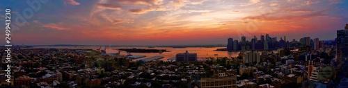Photo  New York Sunset