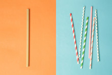 Reusable Bamboo Straws As An A...