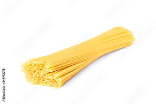 Fotografia Pasta isolated on white background.