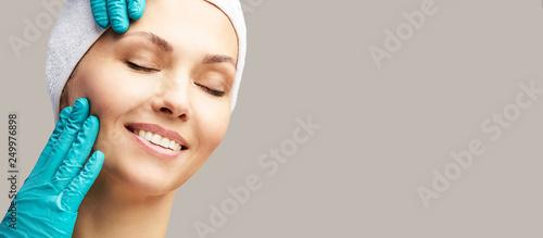 Fotografía  Female derma rejuvenate treatment