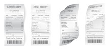 Realistic Payment Paper Bills ...