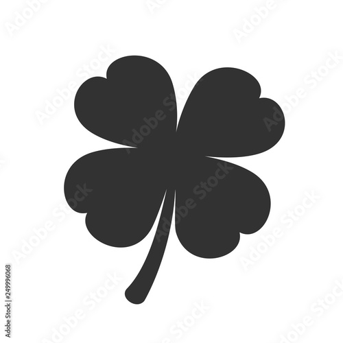 Photographie  Four leaf clover icon