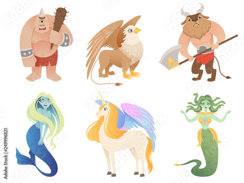 Photo Mythical creatures