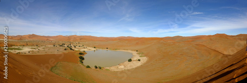 Poster de jardin Desert de sable Namibia