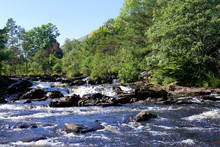 Falls Of Dochart In Killin, Scotland