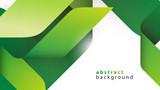 zielone wstęgi tło wektor