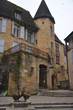 old houses in Sarlat, France