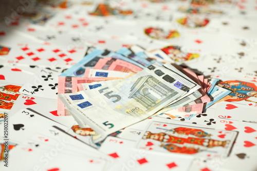 Fotografie, Obraz  Diverse Spielkarten