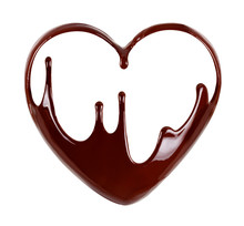 Chocolate In The Form Of Heart...