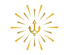 Trident Symbol Illustration