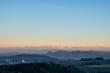 Blick in die Vulkanlandschaft Hegau