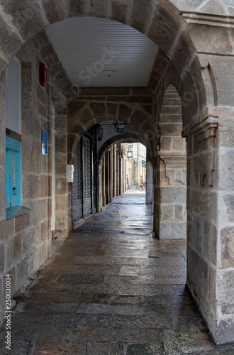 Foto op Plexiglas Barcelona Soportales en Santiago de Compostela