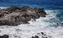 Beautiful Sea And Cliff In Jeju Island