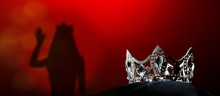 Silver Diamond Crown Of Miss P...