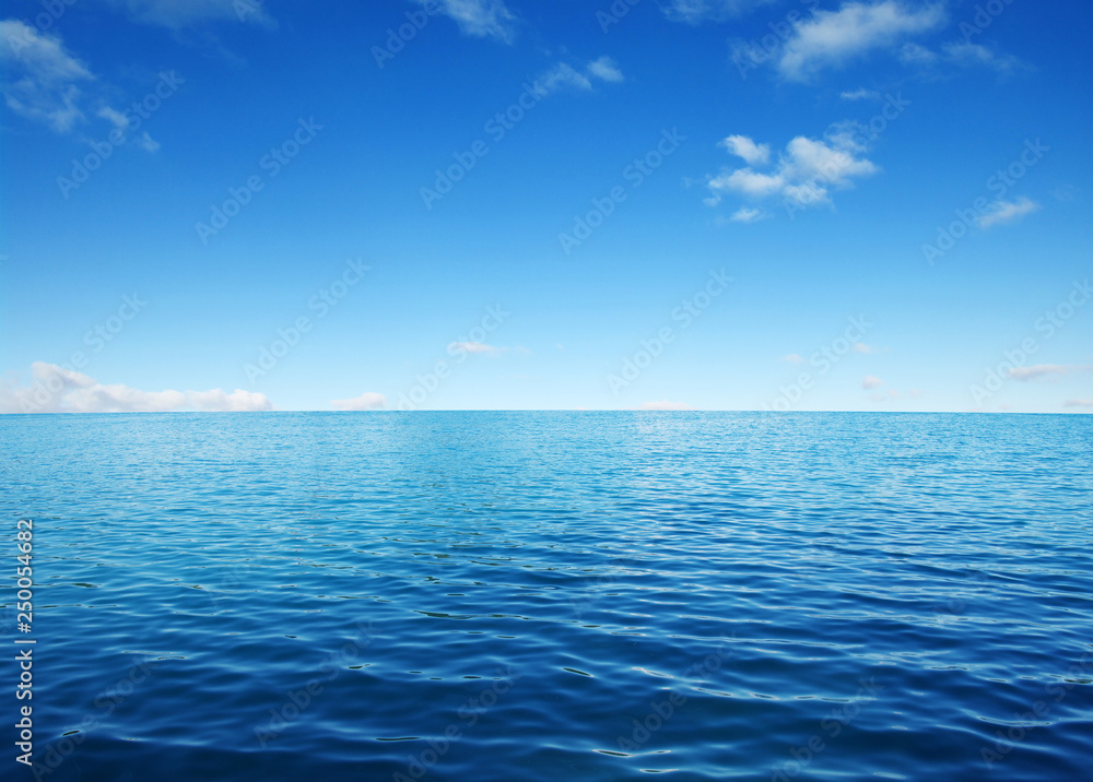 Fototapety, obrazy: Blue sea water