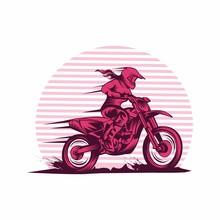 Lady Fast Motocross