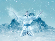Martial Arts Masters, Winter Background