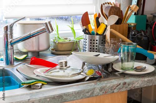 Photo  Compulsive Hoarding Syndrom - messy kitchen