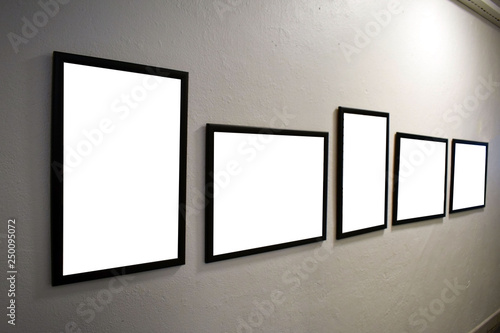 Frames For Photos Or Paintings Hang On The Wall
