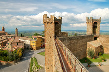 Medieval Montalcino Fortress I...