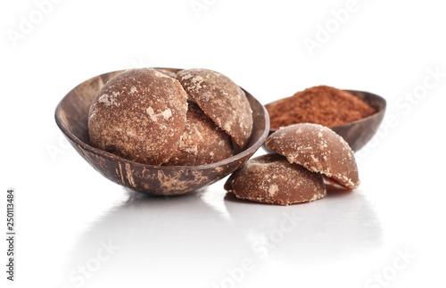 Coconut palm sugar jaggery