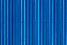 Blue Corrugated Steel Deck Wal...