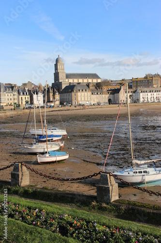 Fotografie, Obraz  Presbytère Sainte Croix de Saint Servan, Saint-Malo
