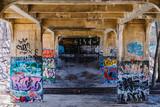 Fototapeta Fototapety dla młodzieży do pokoju - graffiti on wall