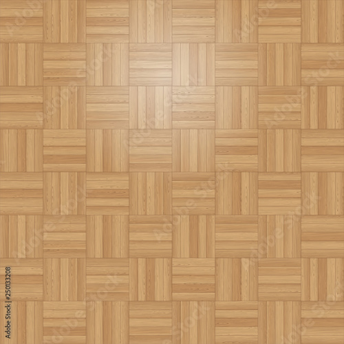 Obraz Square Tile Parquet - fototapety do salonu