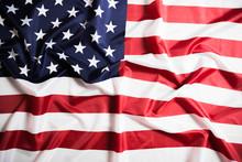 American Flag Waving Backgroun...